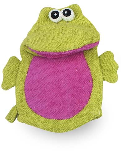 Bath Mitt Friends - Frog