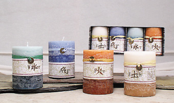Elemental Scented Candles