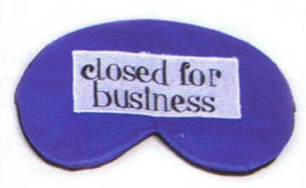 Eye Shades closed for business