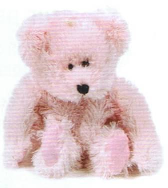 Gel Animals Pink Bear
