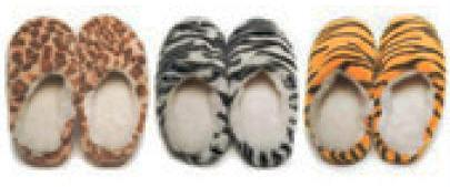 Hot n' Wild Slippers