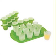 Jello Ice Shots 12 Pack with Tray