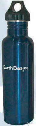 Stainless Steel Drinking Bottle Blue 550ml (18oz)