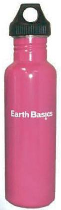 Stainless Steel Drinking Bottle Pink 550ml (18oz)