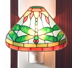 Tiffany Night Light Dragonfly