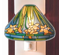 Tiffany Night Light Lilies