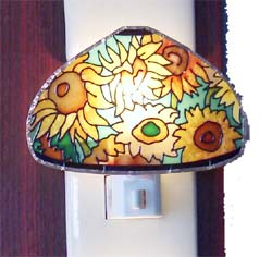 Tiffany Night Light Sunflower Boquet