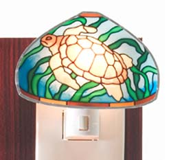 Tiffany Night Light Turtle