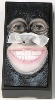 Tissue Box Cover Gorilla