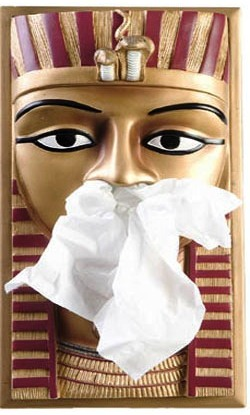 Tissue Box Cover King Tut